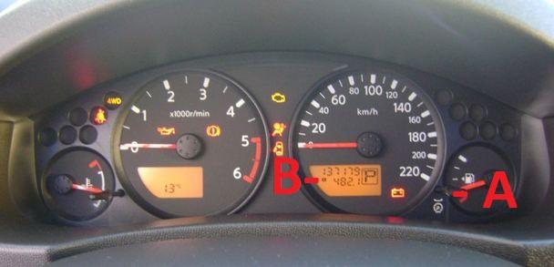 Nissan navara d40 service light reset